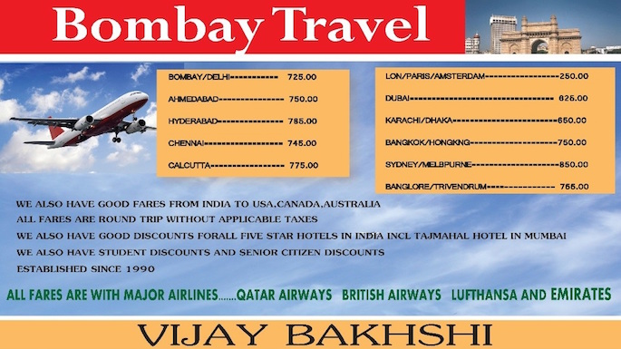 Indian Travel Agencies In New Jersey