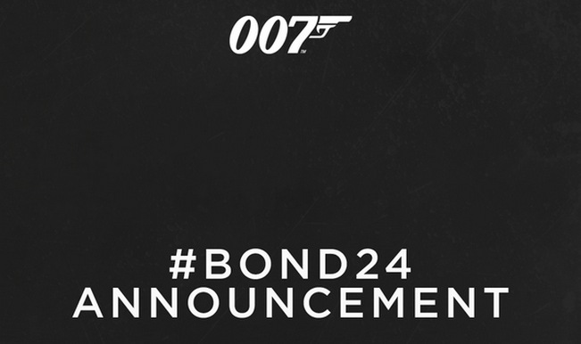 Bond 24 live streaming announcement: New James Bond film title and cast to be revealed on December 4
