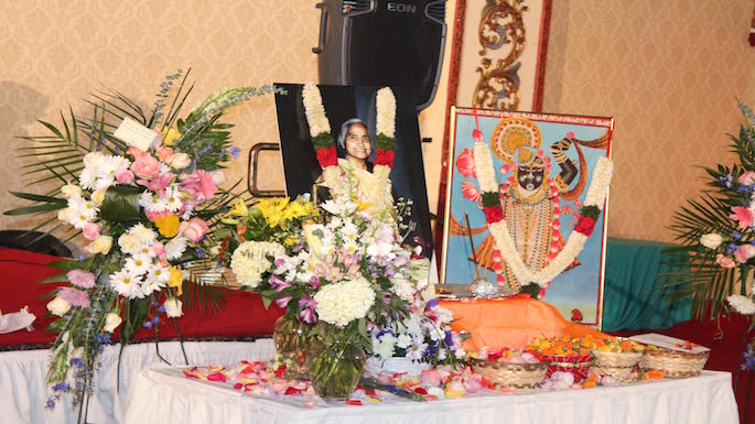 shantabhen modi memorial service