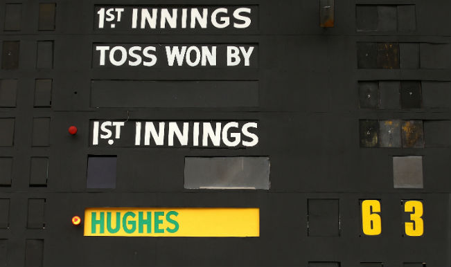 Phillip Hughes 63 Not Out