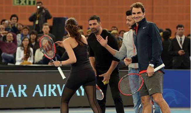 Roger Federer deepika akshay retiesh