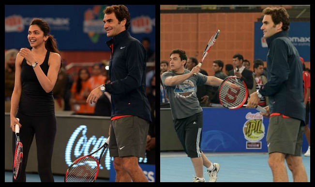 Roger Federer in India