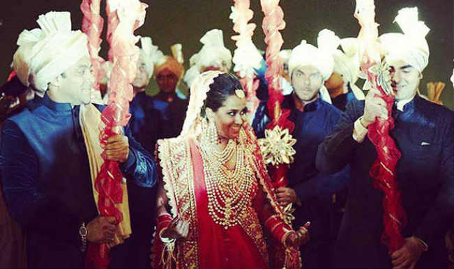 Salman Khan Arpita Khan Wedding