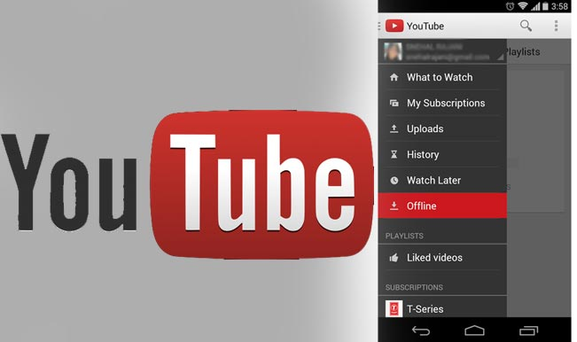 YouTube launches offline playback in India, Indonesia and