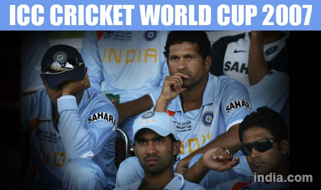 Team India At Icc Cricket World Cup 2007 Men In Blue Eliminated After First Round India Com