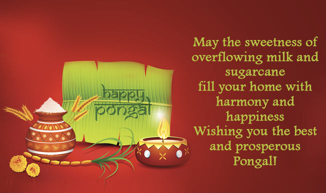 Pongal 2015 messages best pongal sms whatsapp facebook messages marks the beginning of a happy seaon that is joyous and cheerful and one which brings with it good luck and prosperity for always greetings on pongal m4hsunfo