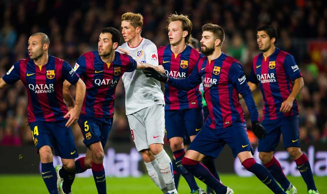 La Liga 2014-15: Watch Barcelona's 3-1 win over Atletico Madrid – Video Highlights