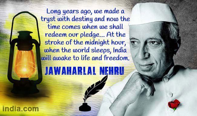 Quotes On Independence Day By Jawaharlal Nehru: Republic Day 2015 Quotes: Best WhatsApp Patriotic Wishes