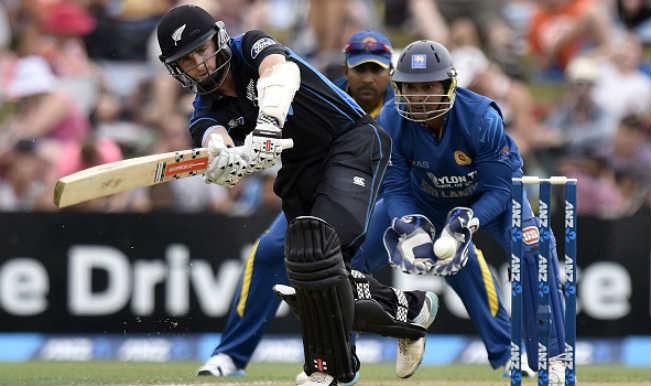 Kane Williamson against Sri Lanka 1st ODI NZ vs SI 2015
