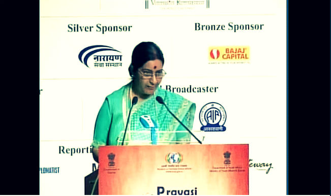 Pravasi Bharatiya Divas 2015: Sushma Swaraj tells diaspora youth to connect and contribute