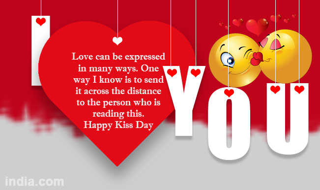 Happy Kiss Day 2015 Best Kiss Day Sms Whatsapp Facebook Messages