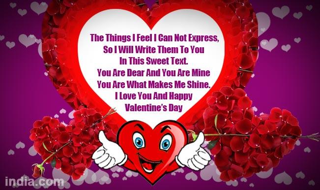 Happy Valentine\'s Day 2015: Best Valentine Day SMS, WhatsApp ...