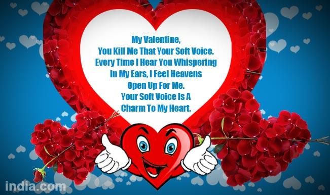 Happy Valentine's Day 2015: Best Valentine Day SMS ...