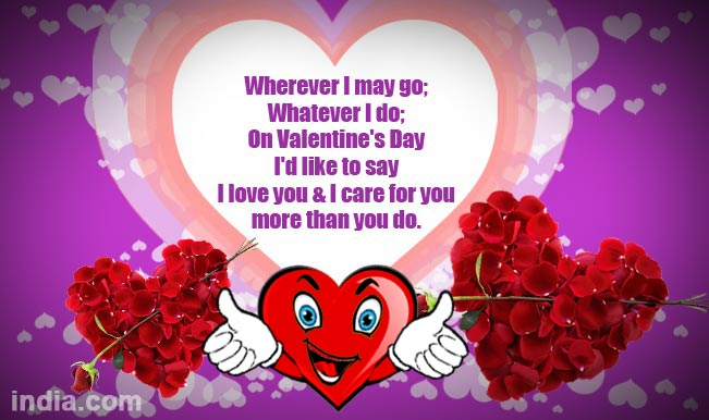 Happy Valentines Day 2015 Best Valentine Day SMS WhatsApp – Messages to Write in a Valentines Card