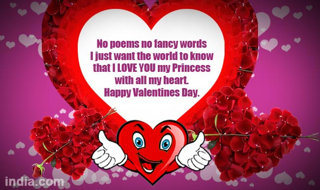 Happy Valentine\'s Day 2015: Best Valentine Day SMS, WhatsApp ...