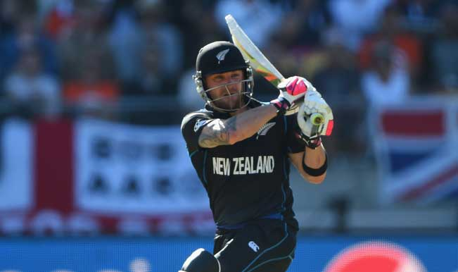 ICC Cricket World Cup 2015: Brendon McCullum rewrites record books for fastest half-century in World Cup | India.com