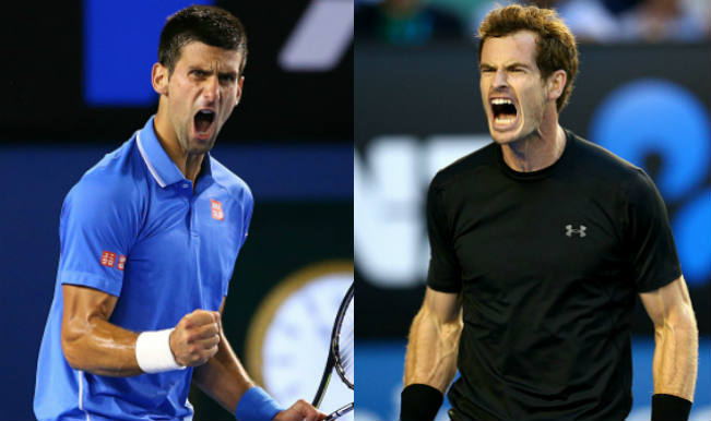 Novak Djokovic Vs Andy Murray Live Match Updates Australian Open 2015 Final Djokovic Beats Murray In Four Sets To Win Aus Open Title India Com