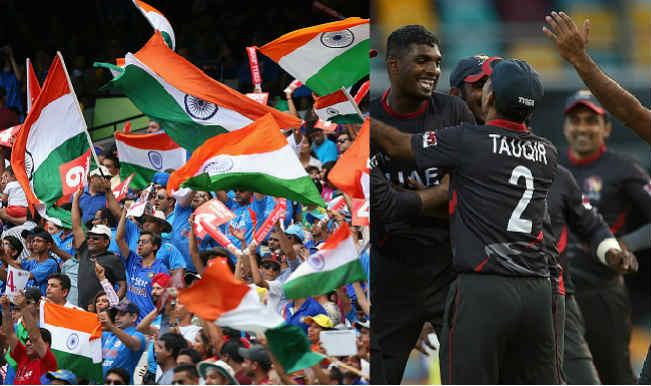 India vs UAE Live Streaming and telecast