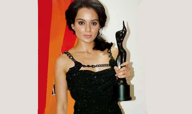 Filmfare Awards 2015: Kangna Ranaut feels great to bag the Best Actor title  for 'Queen'
