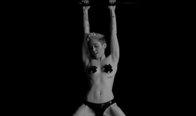 Miley Cyrus Enters Controversial Bondage Video In Nyc Porn Film Festival