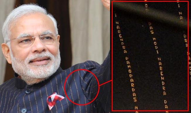 Shiv Sena defends Narendra Modi's auction of monogrammed suit   India.com