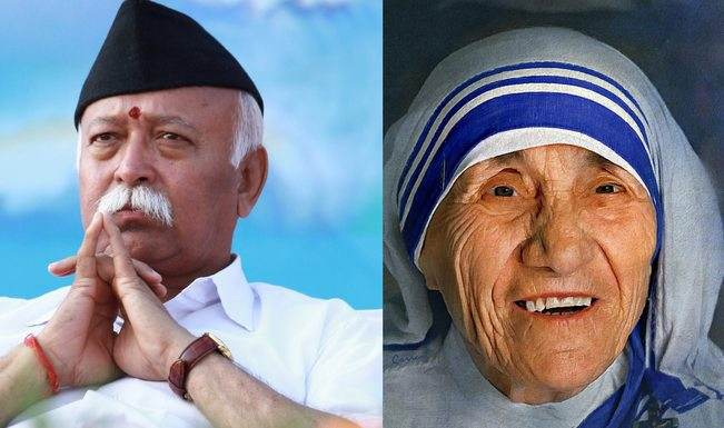 Why RSS chief Mohan Bhagwat is wrong about Mother Teresa