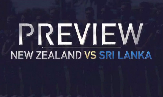 New Zealand Vs Sri Lanka Icc Cricket World Cup 2015 Match