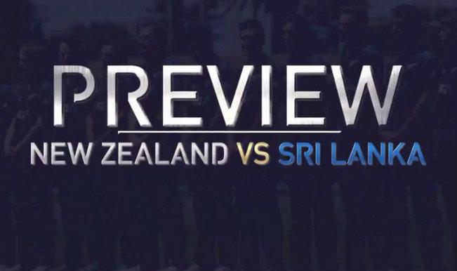 NZ vs SRI Lanka Preview