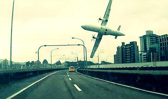 Taiwan plane crash: Low-flying passenger plane crashes in Taipei, 8 killed (Watch full video)