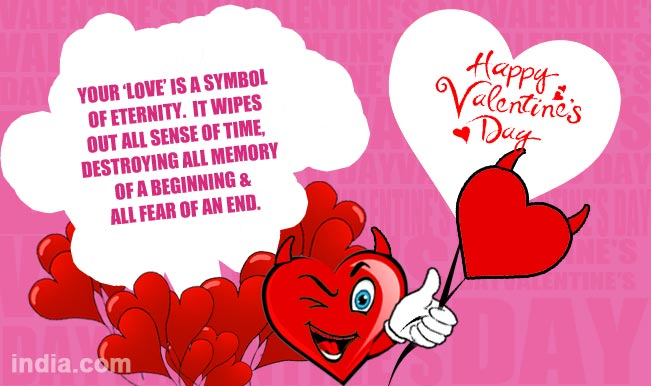 Valentine's Day 2015: Latest Romantic SMS, WhatsApp