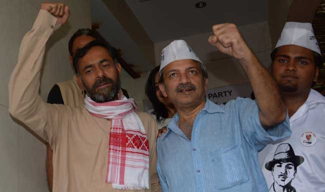 "Mayank Gandhi: Sacking Prashant Bhushan, Yogendra Yogendra against ""sentiments"""