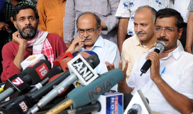 Internal struggle shows Aam Aadmi Party like any other party, say rivals