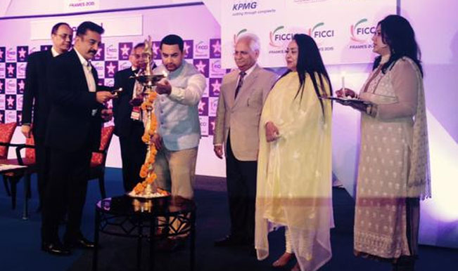 Aamir Khan at FICCI FRAMES 2015: After his anti-AIB stance, actor wants to clean up children's content in India
