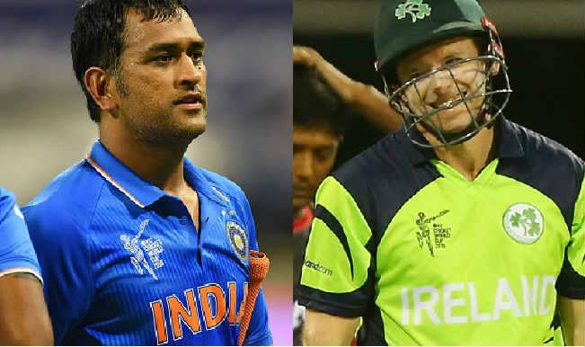 India vs Ireland Toss Report