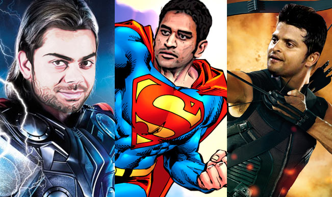 ICC Cricket World Cup 2015: If MS Dhoni, Virat Kohli and the Indian cricket team were superheroes!