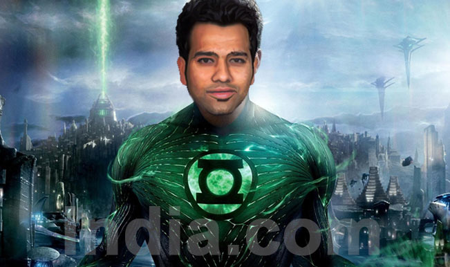 Rohit Sharma – Green Lantern