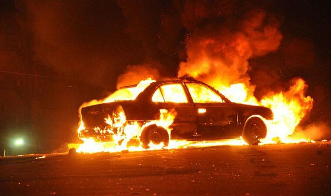 Khatron Ke Khiladi Sagarika Ghatge S Car Explodes Into Flames
