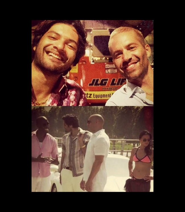 Fast and Furious 7: Ali Fazal speaks on shooting with Paul Walker and the fast cars!