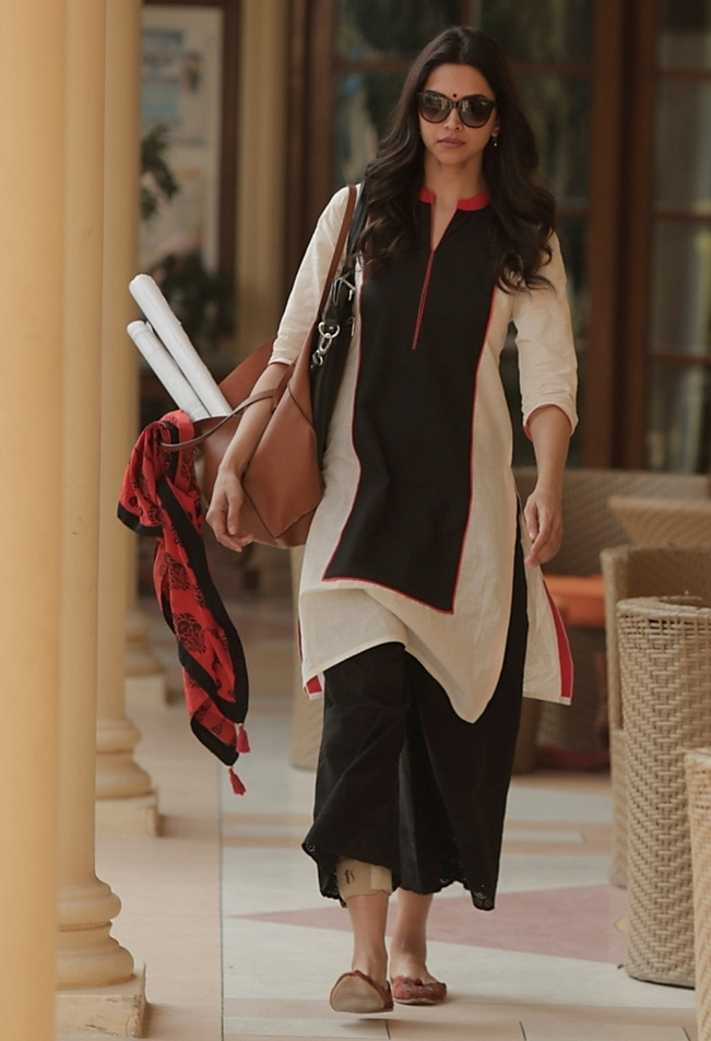 The independent-working-woman look of Deepika Padukone in Piku
