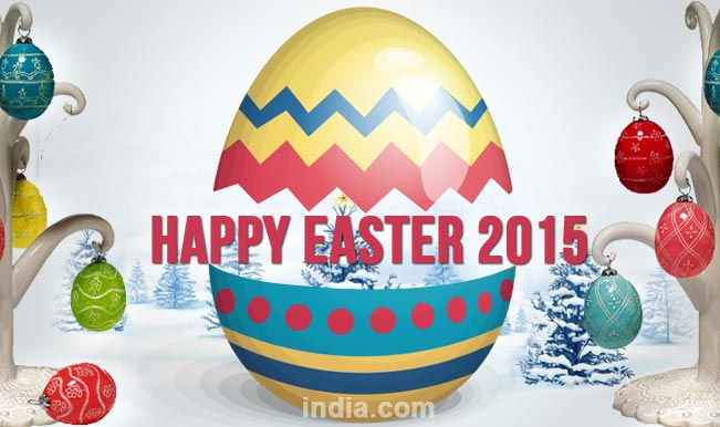 Happy easter 2015 best easter sms whatsapp facebook messages to easter is celebrated by christians across the world marking the resurrection of jesus christ the easter sunday brings an end to the 40 day period of lent m4hsunfo