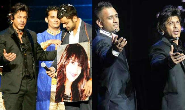 IPL Opening Ceremony Video: Watch Shah Rukh Khan poke fun at MS Dhoni & Virat Kohli in IPL 2014!