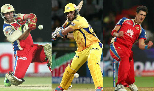 Royal Challengers Bangalore Vs Chennai Super Kings Ipl 2015 20th Match Ab De Villiers Brendon Mccullum Among 5 Key Players For Rcb Vs Csk Clash India Com