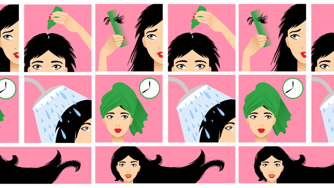 oil hair