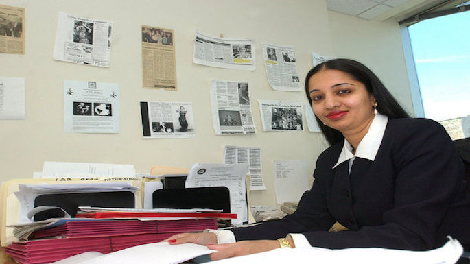 NYC Judge Raja-Rajeswari