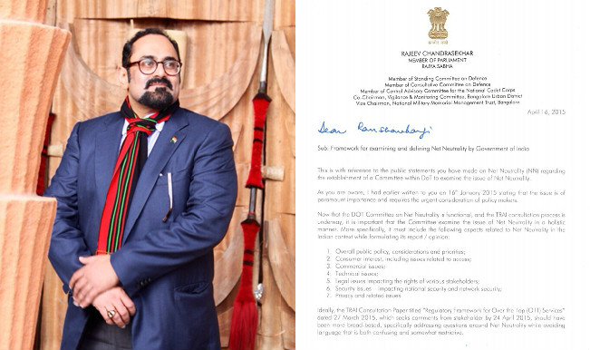 Net Neutrality: Rajya Sabha MP Rajeev Chandrasekhar writes an ...