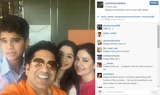 Sachin Tendulkar Made His Debut On Popular Photo Sharing Website Instagram 42nd Birthday The Greatest Gentleman Of Cricket Uploaded