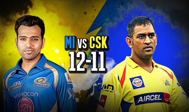 Mumbai Indians Vs Chennai Super Kings Ipl 2015 Final Prediction Results Of All Mi Vs Csk Matches Played So Far India Com