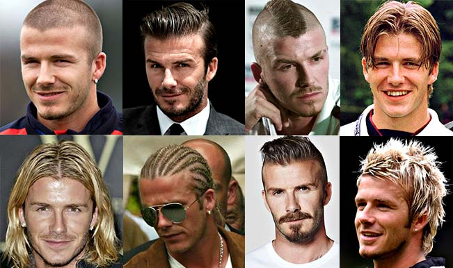 David Beckham turns 40: A look back at multiple hairstyles of football's greatest fashion icon! Watch Video