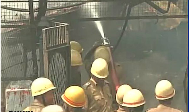 Extended part of New Market of Kolkata gutted in fire | India News
