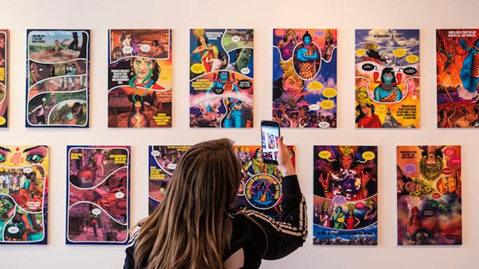 City Lore Art Show